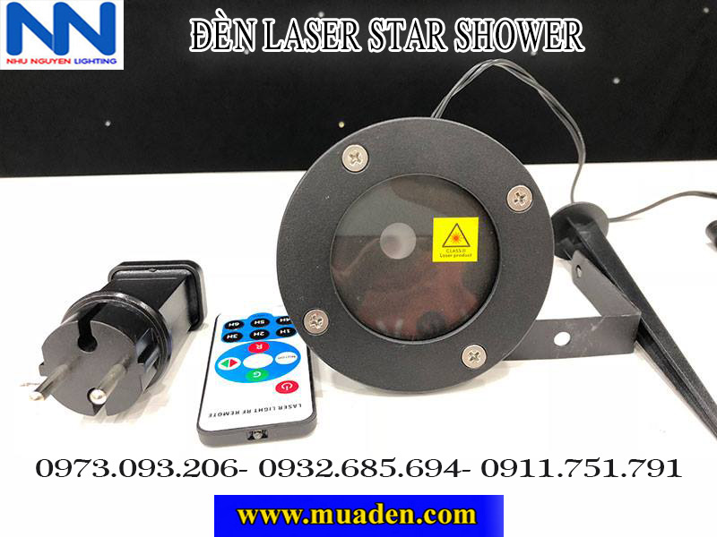 đèn laser star shower
