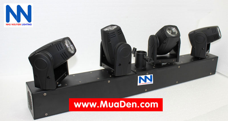 Layout thiết kế moving led fourbeam full color