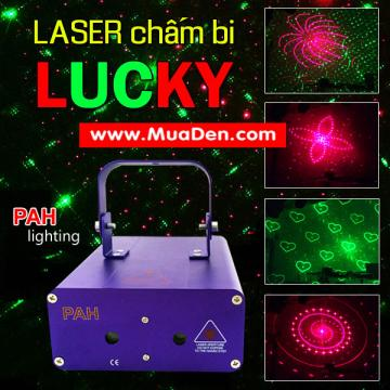 Laser Lucky Green Red