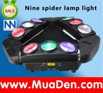 Moving led chảo 9 tia nhện