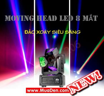 Đèn moving head led đảo xoáy
