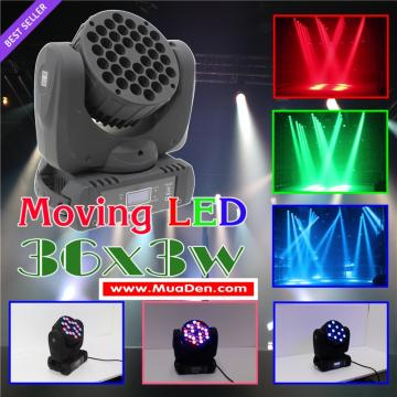 Đèn moving head led 36x3w