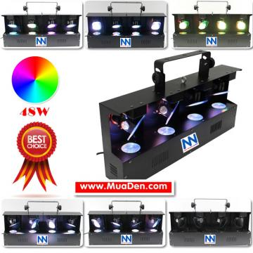 ĐÈN LED BAY scan RGBW
