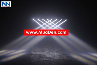 DEN VU TRUONG Moving led four beam  cực sáng 12