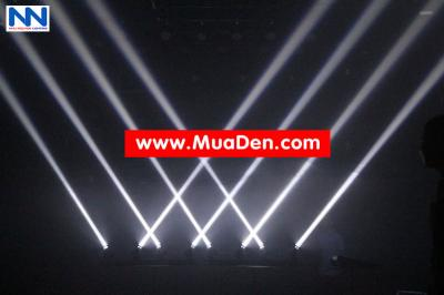 DEN VU TRUONG Moving led four beam  cực sáng 1