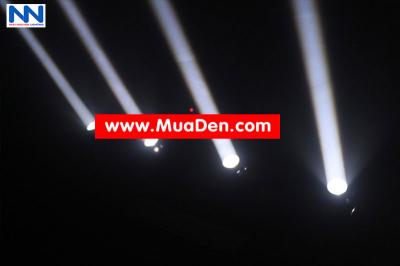 DEN VU TRUONG Moving led four beam  cực sáng 18